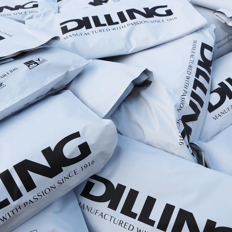 We gebruiken duurzame zakken bij het verzenden van je bestelling