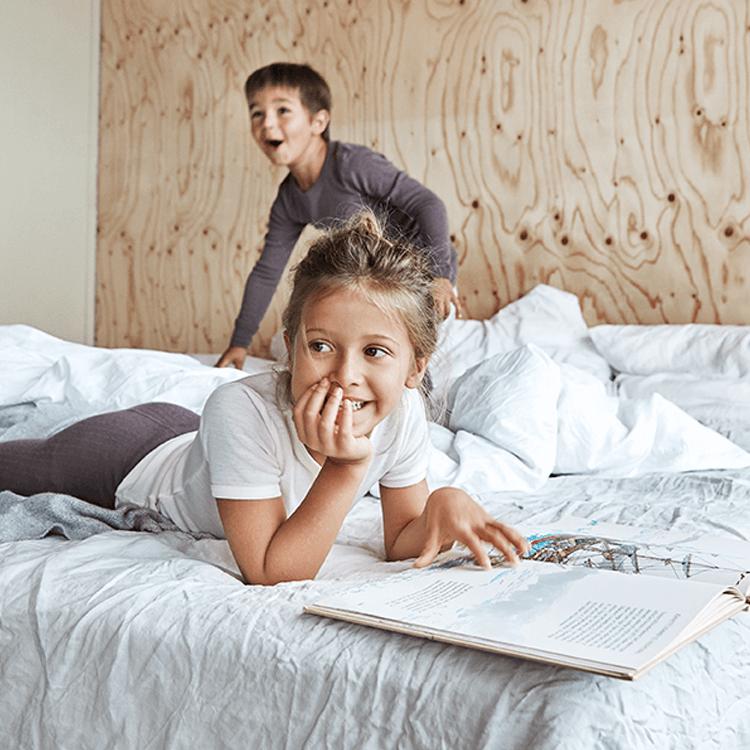 Waarom je kind in wol moet slapen