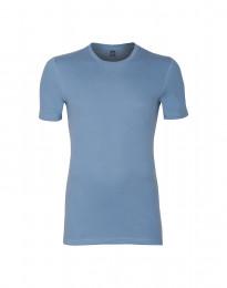 Premium Classic - katoenen T-shirt voor heren blauw