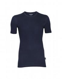 Premium classic - katoenen heren t-shirt marineblauw