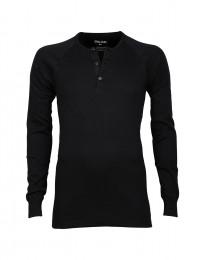 Premium Classic - katoenen shirt voor heren zwart