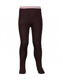 Baby maillot - natuurlijke merino wol donker lila