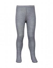 Baby maillot - natuurlijke merino wol grijs melange