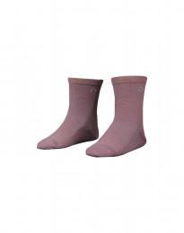 Kindersokken - natuurlijke merino wol roze