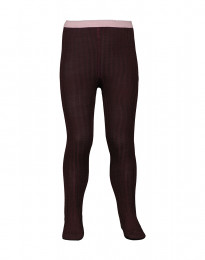Kinder maillot - natuurlijke merino wol donker lila