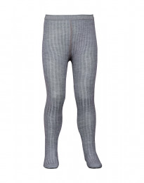 Kinder maillot - natuurlijke merino wol grijs melange