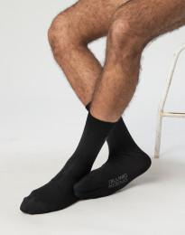 Herensokken - biologisch merino wol zwart