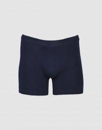 Heren boxershorts katoen marineblauw