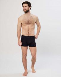 Katoenen boxershorts voor heren zwart