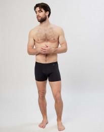 Microvezel boxershorts voor heren zwart