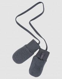 Handschoenen van wolfleece voor baby's donkergrijs