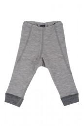 Merinos legging baby grijs melange
