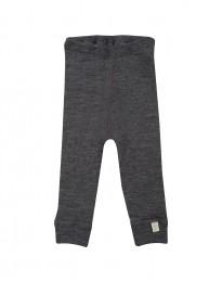 Baby Leggings - Bio Merinowol donker grijs melange