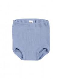 Baby broekje - Bio Merinowol lichtblauw
