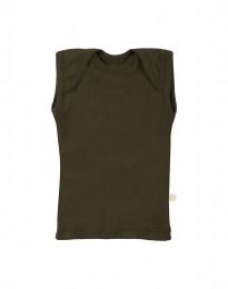 Merinos hemdje voor baby Groen