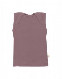 Merinos hemdje voor baby Roze