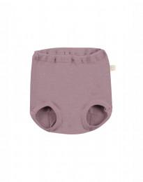 Merinos broekje voor baby Roze