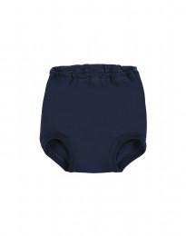 Baby broekje van natuurlijke katoen Marineblauw