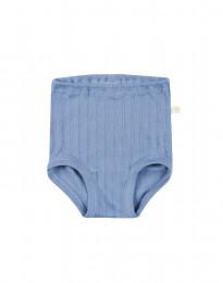 Baby broekje van natuurlijk katoen blauw