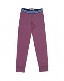 Leggings voor kinderen - exclusieve merinowol violet