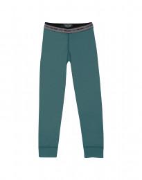 Leggings voor kinderen - exclusieve merinowol groen-blauw