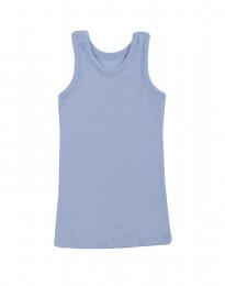 Kinderhemd - Bio Merinowol lichtblauw