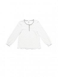Gestippeld homewear T-shirt voor meisjes