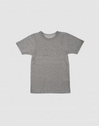 Zacht katoenen T-shirt grijs melange
