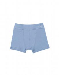 Katoenen boxershorts voor jongens blauw