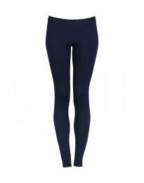 Dames legging katoen marineblauw