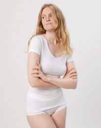 Katoenen dames t-shirt wit