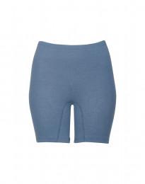 Merino shorts voor dames duifblauw