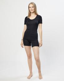 Merinos shorts voor dames zwart