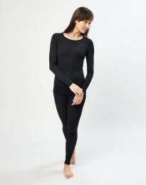 Merinos legging dames zwart