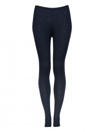 Leggings voor vrouwen - In Bio Merinowol dusty blue