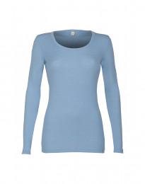 Dames trui - BIO merinowol lichtblauw