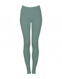 Leggings voor vrouwen - BIO merinowol lichtgroen