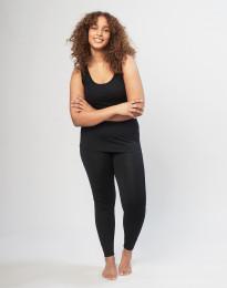DILLING - Maatje meer wollen legging dames zwart