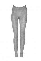 Merino Leggings Dames grijs