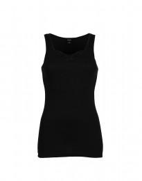 DILLING - Maatje meer dames shirt van katoen zwart