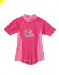 T-shirt met UV-bescherming voor meisjes roze