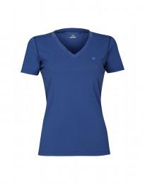 Dames T-Shirt met UV-bescherming UPF 50+ Blauw