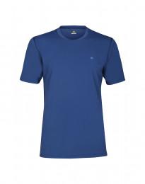 Heren T-Shirt met UV-bescherming UPF 50+ Blauw
