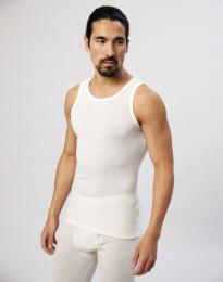 Merinos shirt voor heren natuur