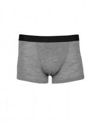 Merinos boxershorts voor heren grijs