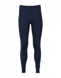 Heren legging met gulp van merinowol in Dusty Blue