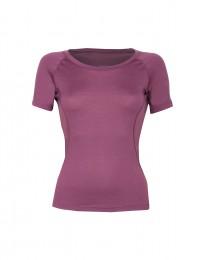 Merinos t-shirt voor dames violet