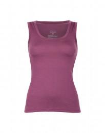 Wollen hemd voor dames violet