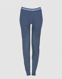 Damesleggings van exclusieve merinowol donkerblauw