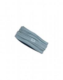 Zachte merino colsjaal mineraalblauwe